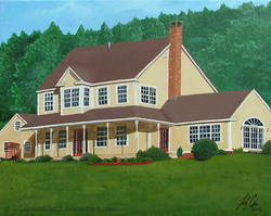 Commission: Quechee House 2