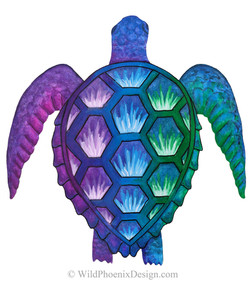 Technicolor Turtle