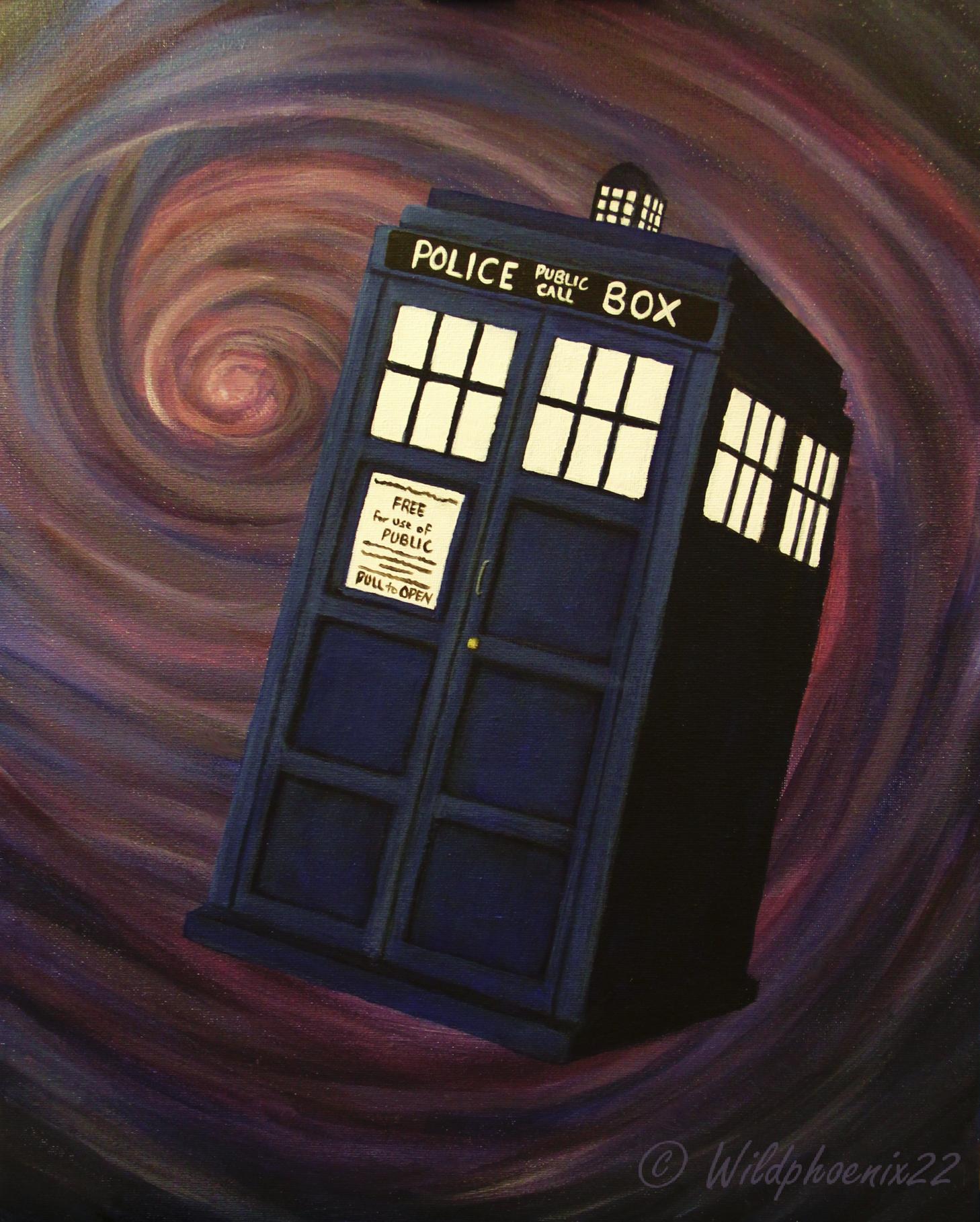 Wibbly-Wobbly TARDIS