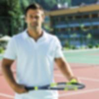 Play Tennis with Runman Bluetooth Earphone