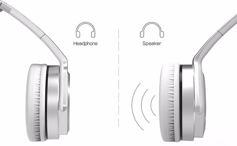 Headphones & Speaker 2 in 1