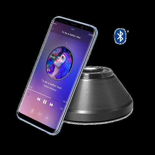 Bluetooth Speaker plays music