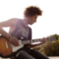 Play guitar with Pogo Bluetooth earphone