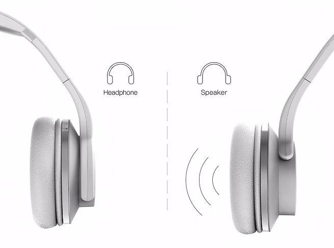 Headphones & Speaker 2 in 1