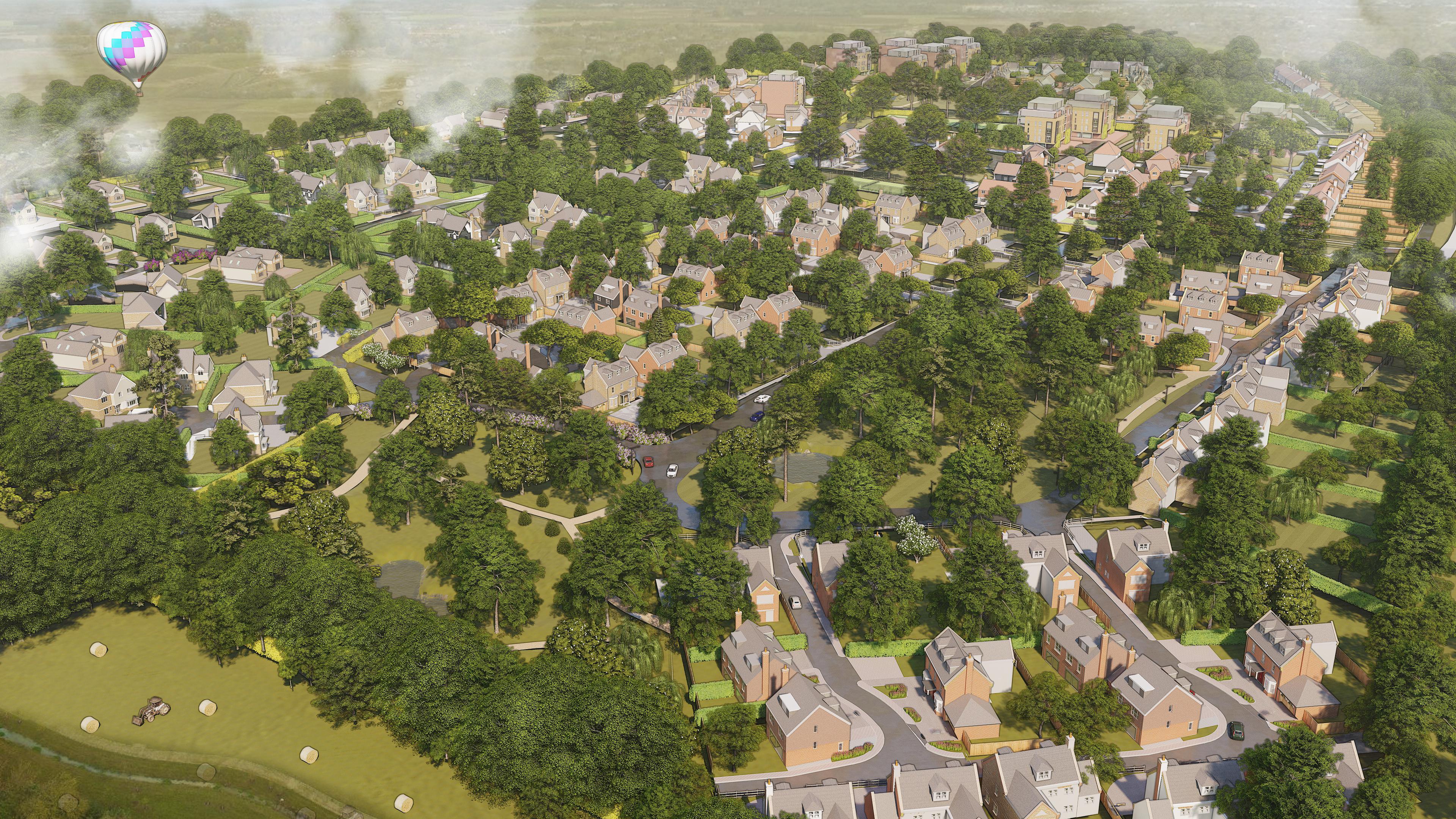 Conceptual Artistic Site Plan 2 - Land a