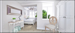 Bedroom - Visual - 4 Yew Tree Cottages