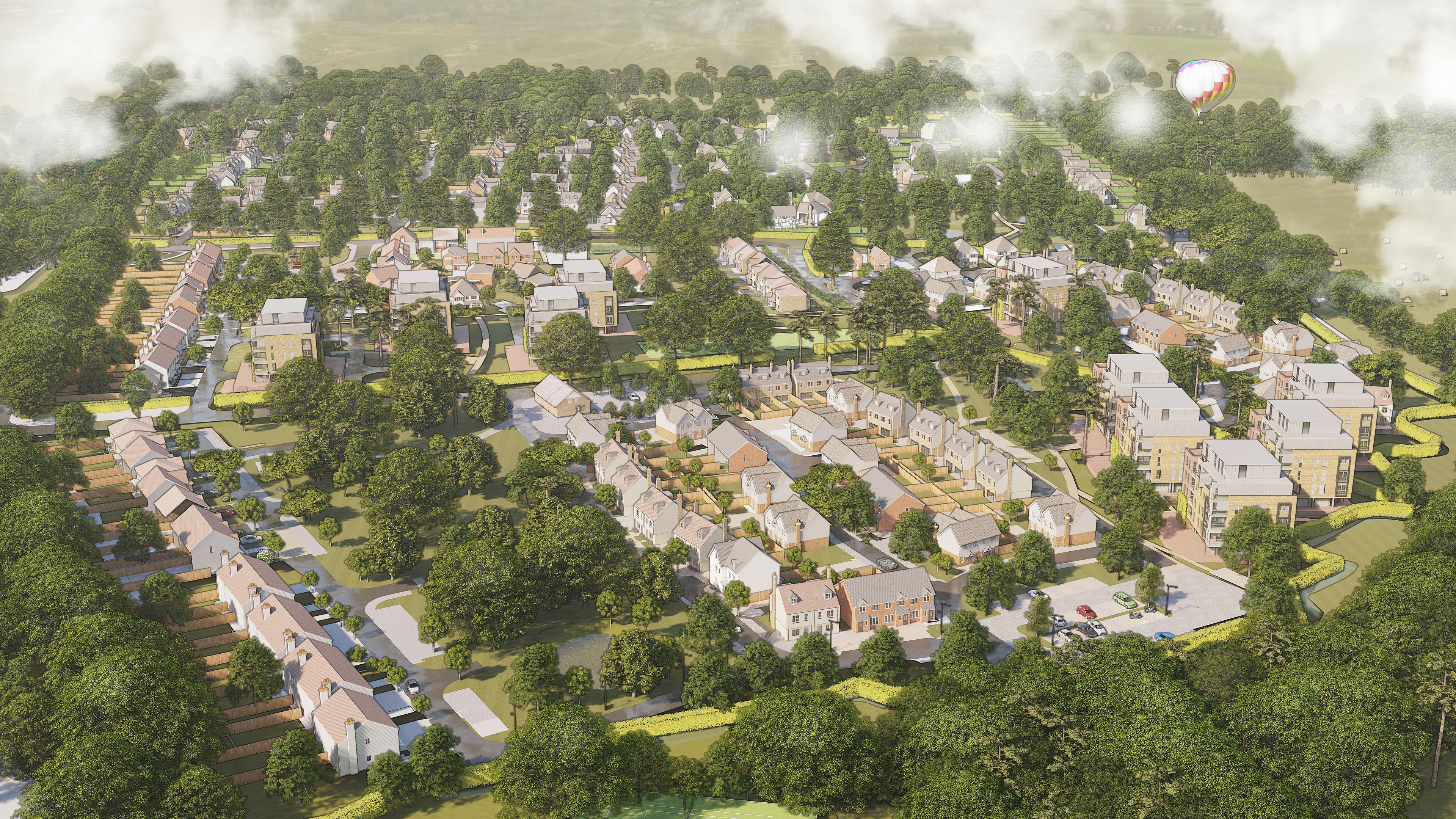 Conceptual Artistic Site Plan 1 - Land a