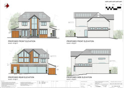111.06 - PROPOSED ELEVATIONS - COLOURED