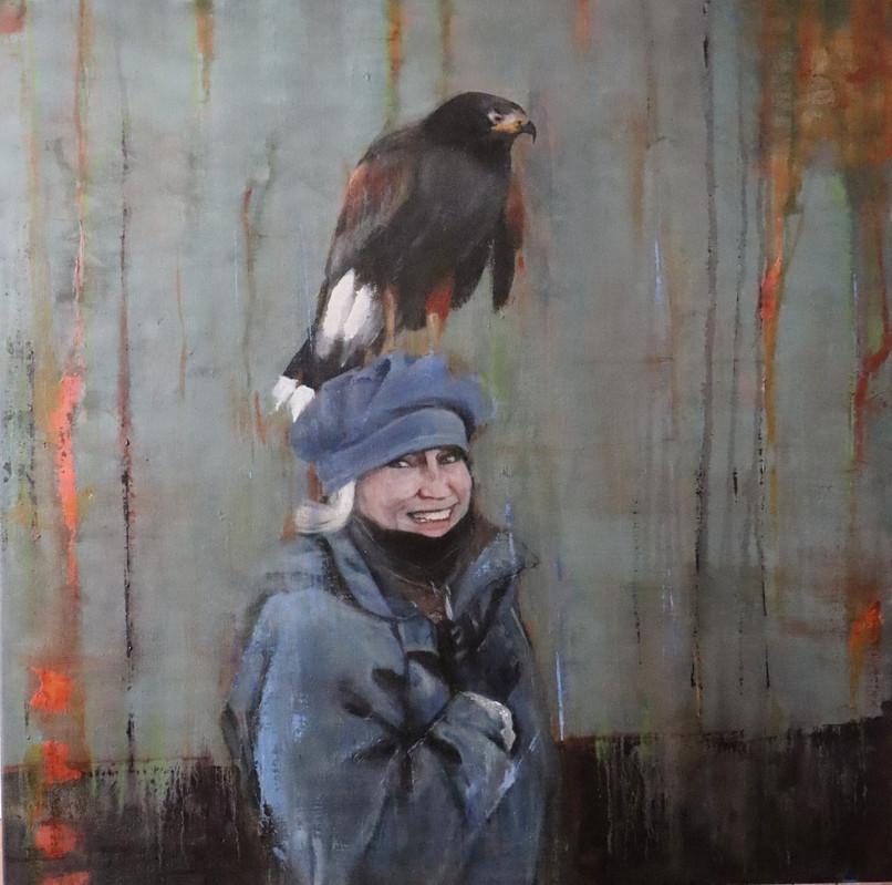 Lisa avec oiseaux