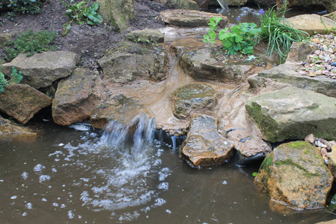 Pond & Waterfall Creation