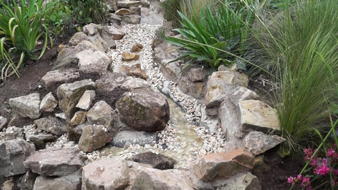 Custom Rockery & Waterfall