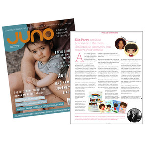Featured in Juno Mag, Early Spring Issue 2021