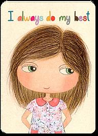 Happy Kids Affirmation Cards for kids, I am affirmation cards, Positive Affirmations for children, kind words for kids, Mindfulness cards, well-being flash cards, children affirmations