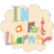 Little Curly, affirmation to help kids' learn, art, cute illustrations, I Am a Fast Learner.