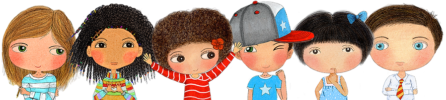 Little Curly and Happy Kids Affirmation