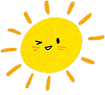 Little Curly, Happy Kids, Happy Kids affirmation cards, positive cards for kids, happy yellow sun, mindfulness kids