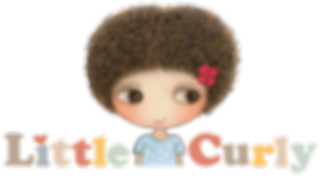 Little Curly, all about love, cute, adorable, loveable , curly hair girl, children illustraion
