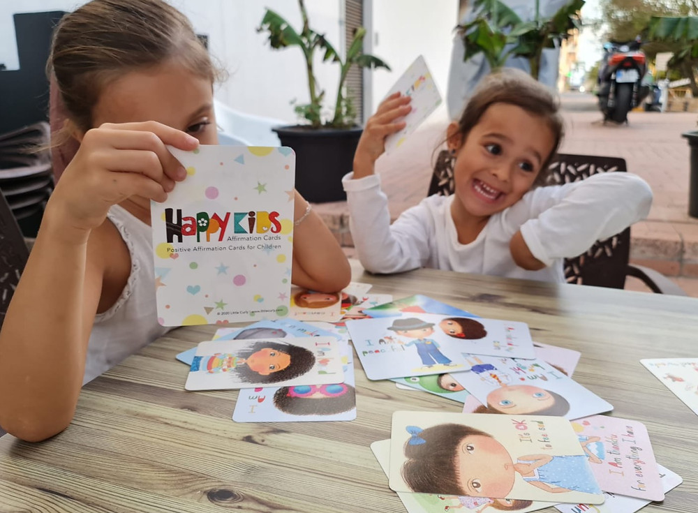 how to use affirmation cards with kids, affirmation cards for kids, affirmations, positive affirmation cards, mental health, wellbeing for kids, children affirmations, mindful kids, mindfulness, mindfulness parenting, homeschooling