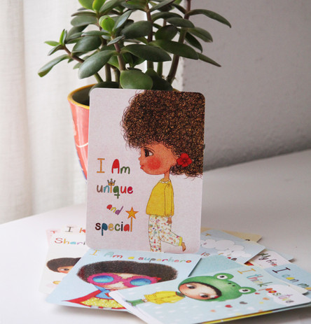 Happy Kids Affirmation Cards