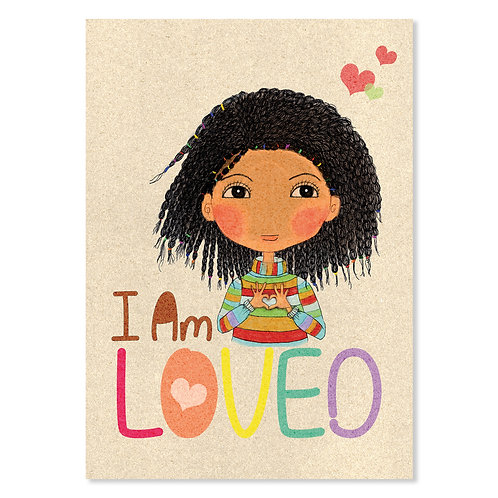 """I Am LOVED"" Art Print"