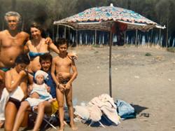 Family gethering at La Pineta