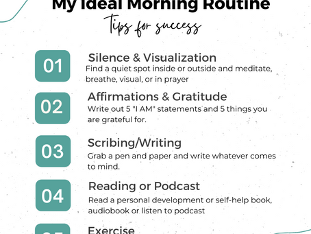 My Ideal Morning Routine