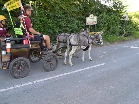 Melting roads, Mini Mokes & Bikinis - a hot day in Powys