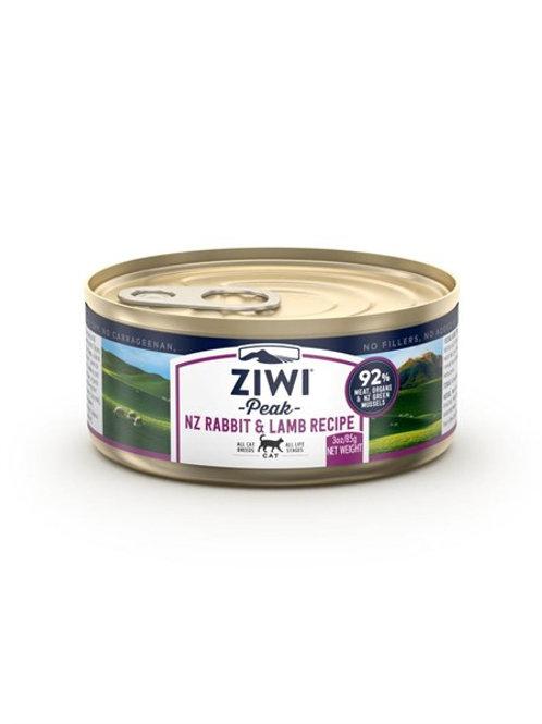 ZIWI Peak - 貓罐頭[兔肉及羊肉配方] 3oz