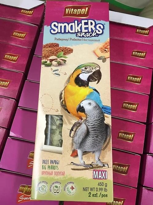 Maxi KOLBY for big parrots - pistachio 2ct