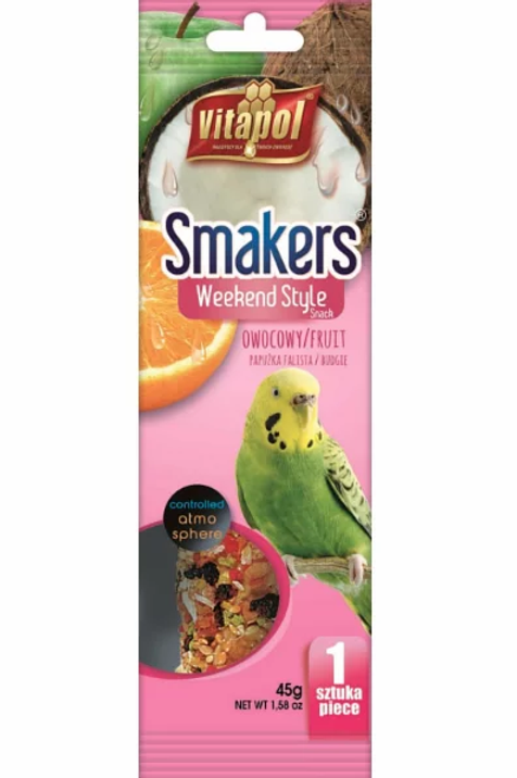 Weekend Style Fruit SMAKERS for budgie 1ct