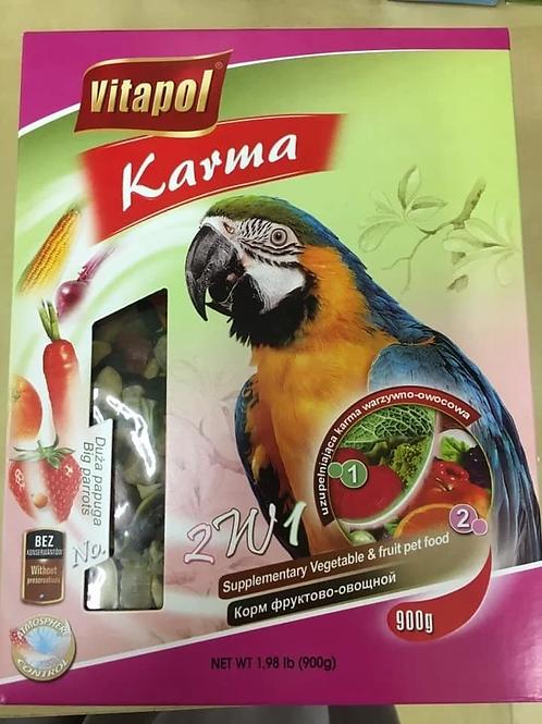 KARMA Vegetable/Fruit for big parrots 900g