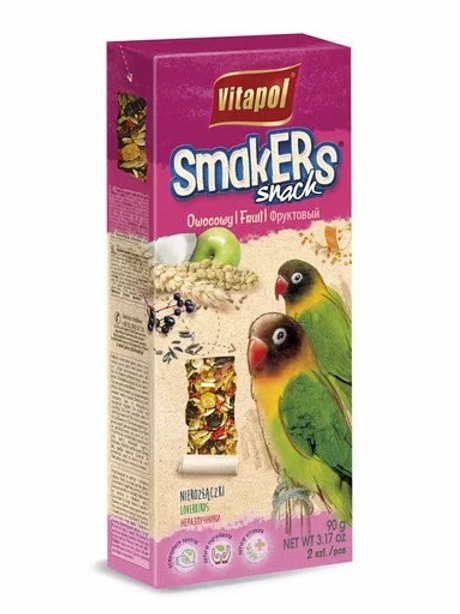 Fruit SMAKERS for lovebird 2ct