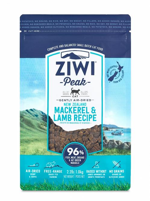ZIWI Peak - 無穀物脫水貓乾糧[鮪魚及羊肉配方] 1kg