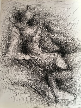 Desenho de Paulo Leite - Teiativa Feldenkrais
