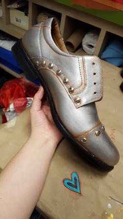 Tin Man's shoes
