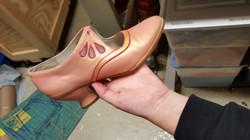 Kim's Shoe Painting