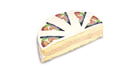 Brie Nangis mit weißem Albatrüffel-Frischkäse gefüllt (ca. 800g)