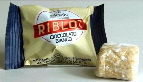 Riblot, Bianco (weisse Schokolade)(11g/ Stück)