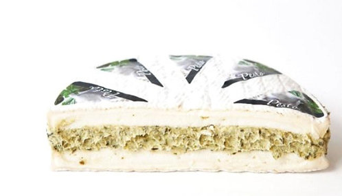 Brie Nangis mit Pesto-Frischkäsecreme gefüllt (ca. 800g)