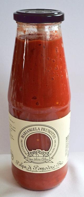 BIO Polpa di Pomodoro (Tomatensoße mit Stücken) (340g/Glas)