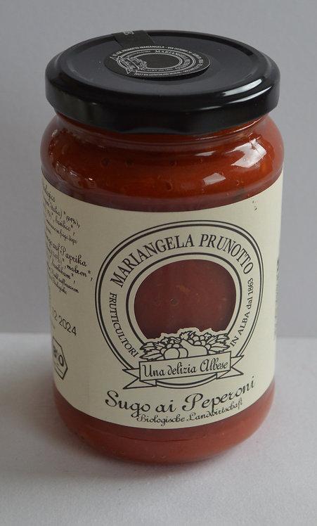 BIO Tomatensauce mit Paprika (340g/Glas)