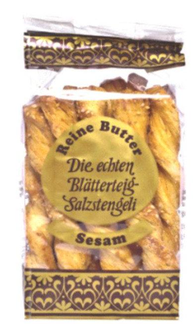 Blätterteigstangen mit Sesam (125g/Beutel)
