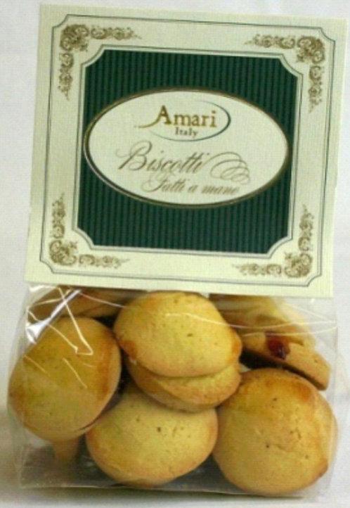 AMARI Kekse mit Gjandujafüllung (200g/ Beutel)