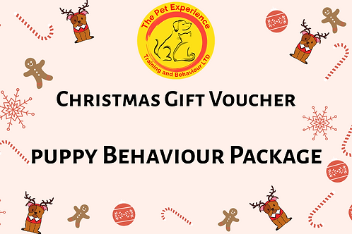 Gift Voucher - Puppy Behaviour Package