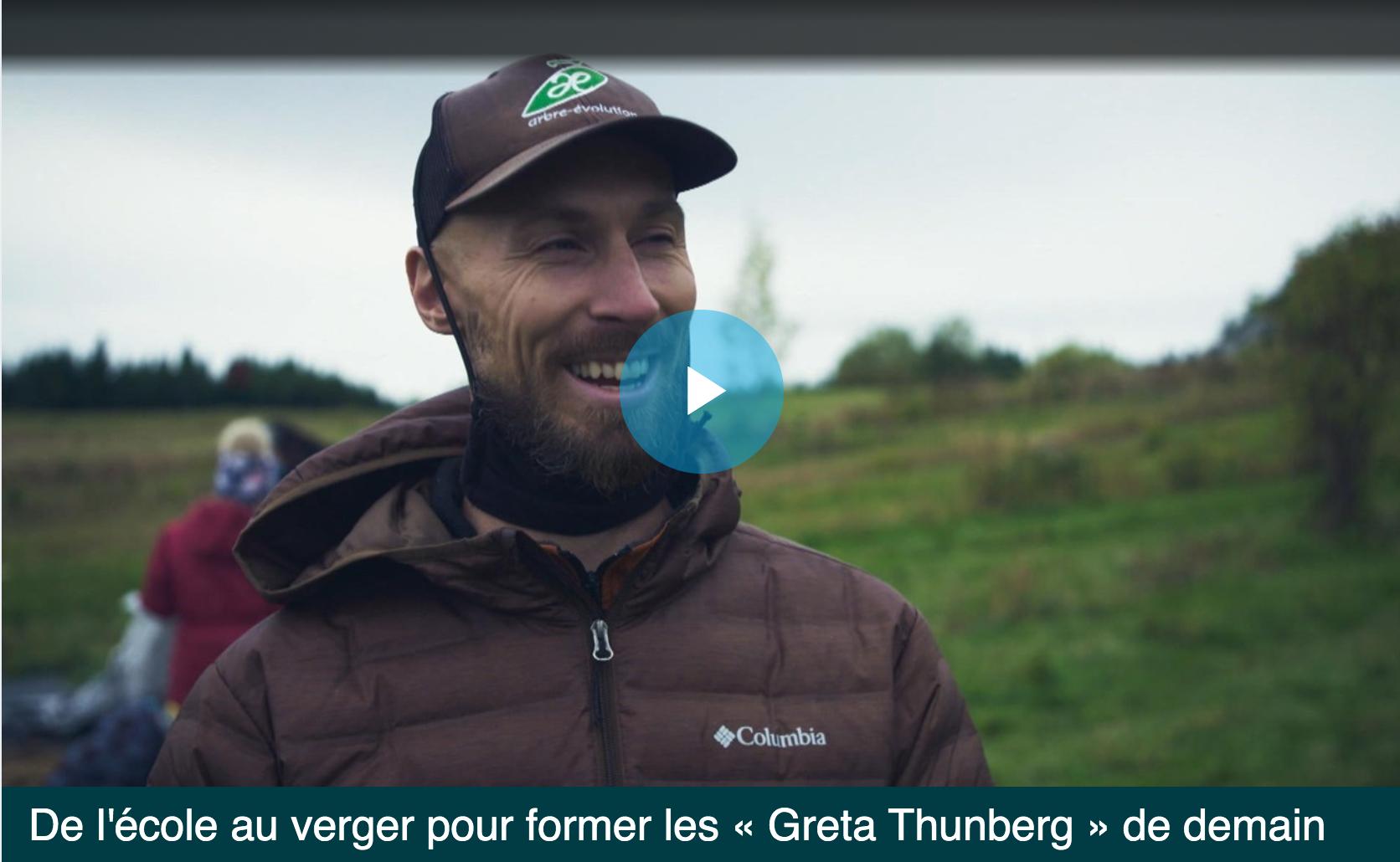 Arbre-Évolution et Le Semoir  à  Télé-Québec!