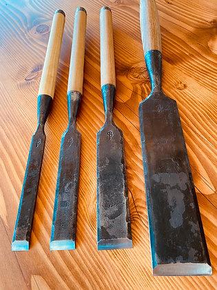 KIT de 4 Ciseaux à bois CHARPENTERIE