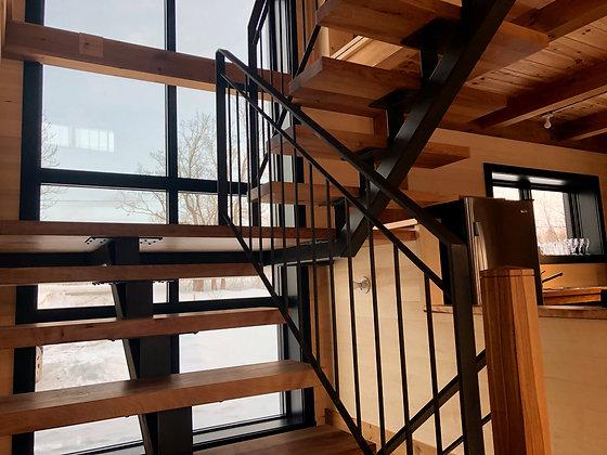 """MARCHES d'escalier 2,5"""""""