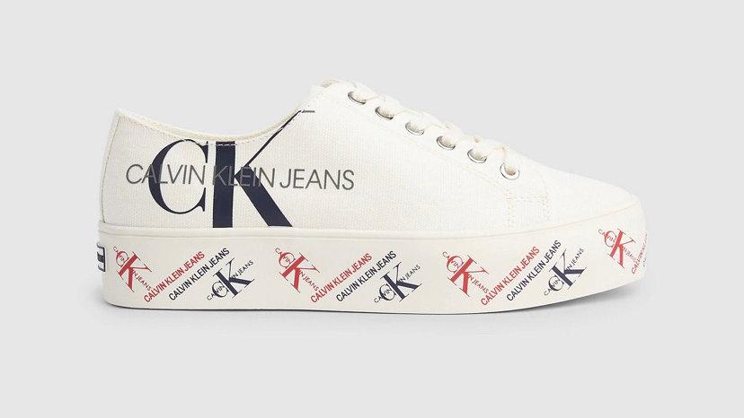 Calvin Klein - CANVAS TRAINERS