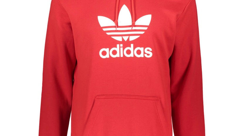 ADIDAS Red Pro Pullover Hoodie