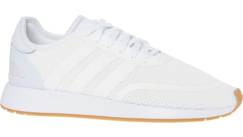 ADIDAS White Knitted Active Trainers